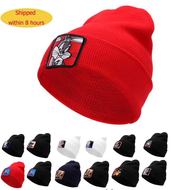 Casual Beanies Winter Hat Dragon-Ball-Vegeta Unisex-Cap Knitted Warm Cotton Fashion Women