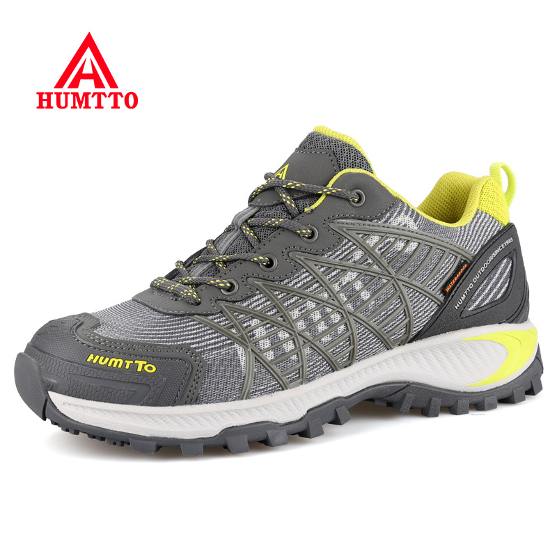 Sale Autumn Winter Hiking Shoes Breathable Mesh Outdoor Trekking Boots Lace-up Climbing Mens Hunting Sneakers Men Male Walking sale outdoor sport boots hiking shoes for men brand mens the walking boot climbing botas breathable lace up medium b m