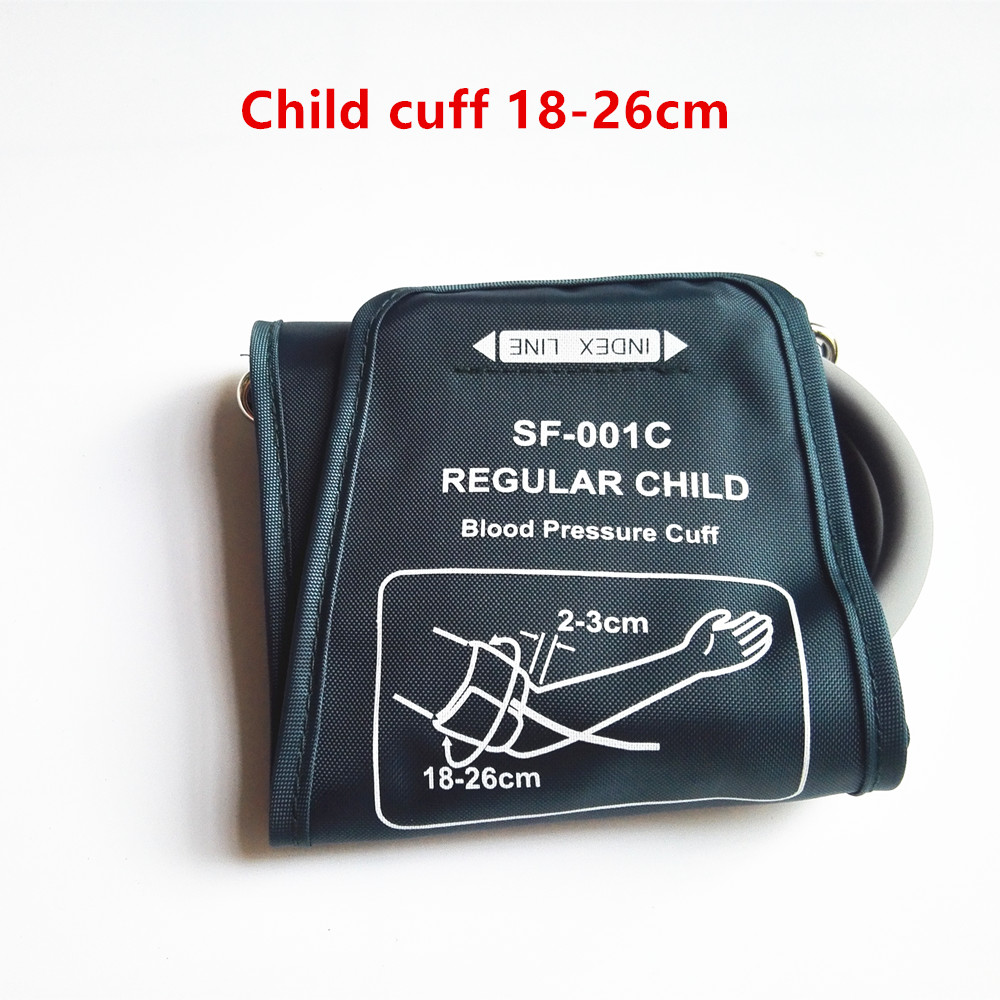 18-26cm regular child blood pressure cuff for arm blood pressure monitor tonometer automatic sphygmomanometer cuff for children image
