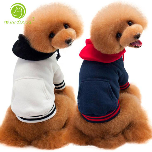 Us 602 22 Offweichen Herbst Und Winter Hund Kleidung Teddy Kleine Hund Welpen Pullover Mantel Mit Bär Muster Pet Kleidung Nette Hund Hoddie In