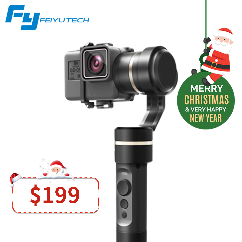FeiyuTech Fy G5 Splashproof 3 Axis Handheld Gimbal For GoPro HERO 6 5 4 3 3