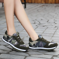 Sneakers Camouflage Unisex Running Shoes Slipony Sport Women Shoes Height Increase Female Comfort Footwear Plus Size