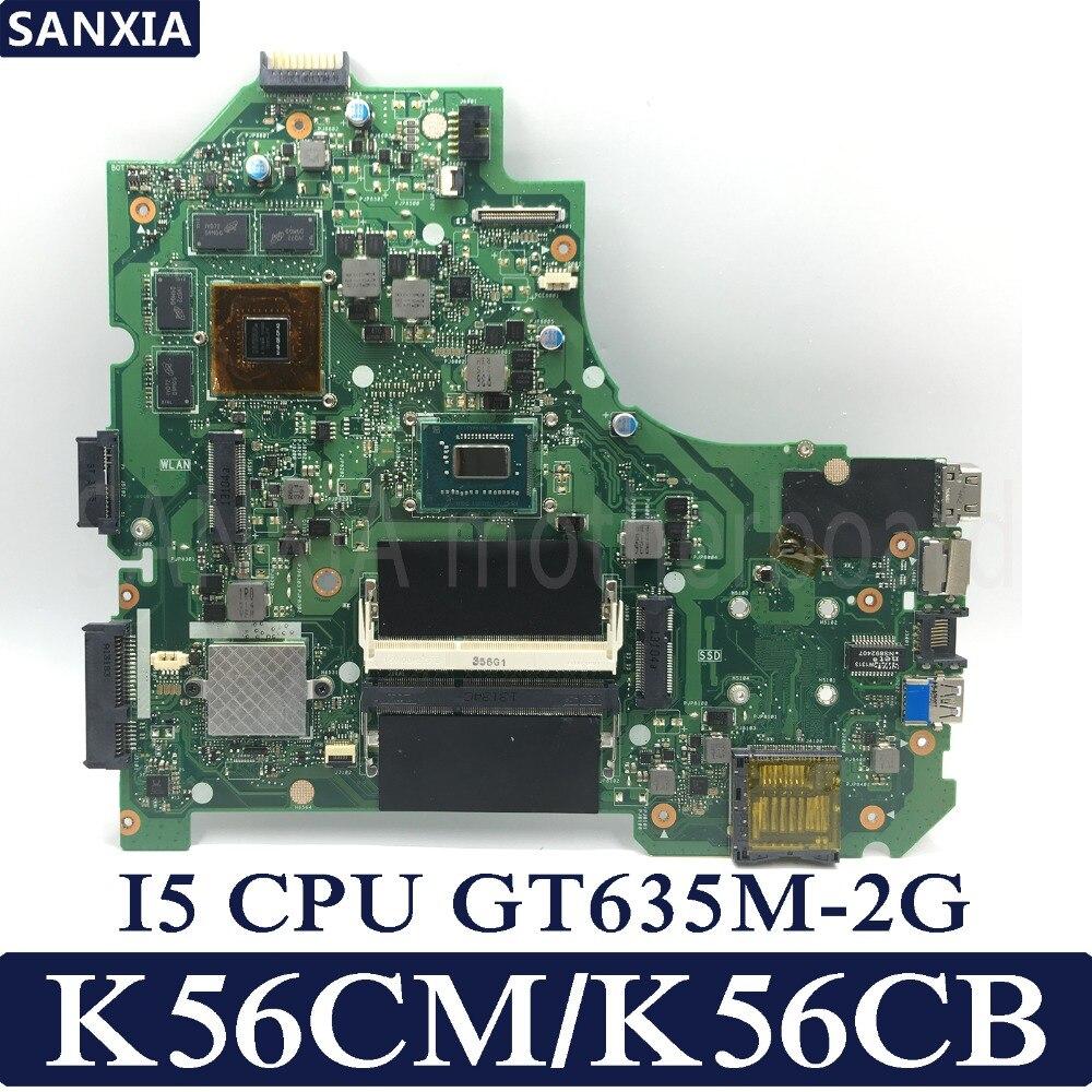 KEFU K56CM Laptop motherboard for ASUS K56CM K56CB K56C S550CM S550C Test original mainboard I5 CPU