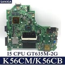 KEFU K56CM Laptop motherboard for ASUS K56CM K56CB K56C S550CM S550C Test original mainboard I5 CPU GT635M-2G