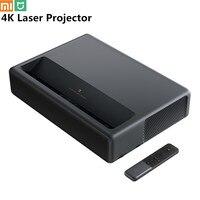 Xiaomi mijia 4K laser projector TV home theater short focus 5000 lumens 4k 3840x2160 dpi video with Wifi Bluetooth 3D projector