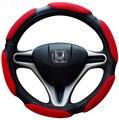 38 cm de Diâmetro Tampa Da Roda de Direcção Do Carro Para A Maioria Dos Carros de Alta Qualidade Lenkradabdeckung Universal Sandwich 15 Volante Cobre
