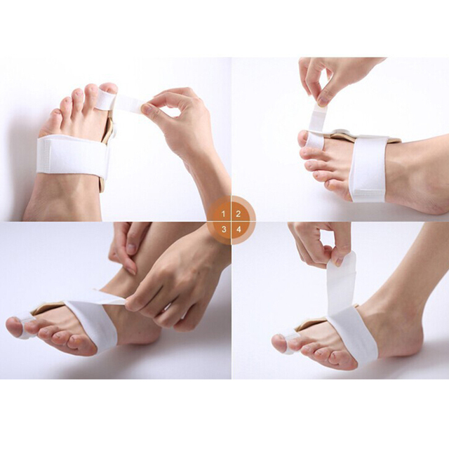 1Pcs/2PCS Toes Eversion Device Hallux Valgus Pro orthopedic Braces Toe Correction Feet Care Corrector Thumb Big Bone Orthotics