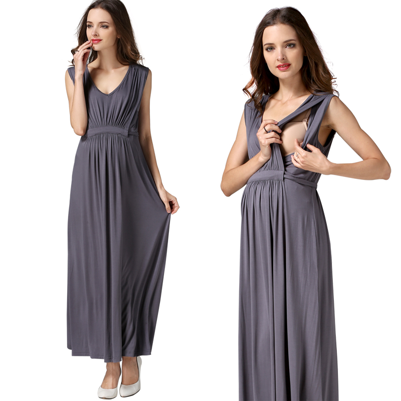 Long Dresses for Pregnant Women