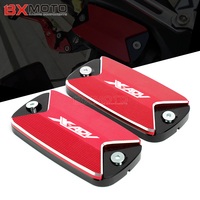 One Pair For Honda X ADV 750 X ADV 2017 2018 Motorcycle Accessories CNC Front Brake Master Cylinder Fluid Reservoir Cover caps
