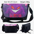 Anime Pokemon Haunter Mewtwo Messenger Bag School Shoulder Bag For Students Kids Children Boys Gilrs Teenager Canvas Bags