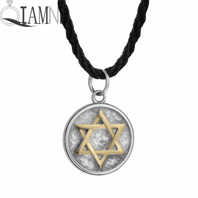 Qiamni stainless steel punk star pyramid sun cross lotus lion eye qiamni stainless steel punk star pyramid sun cross lotus lion eye bird pendant necklace friendship birthday aloadofball Image collections