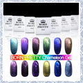 12 bottles/set Born Pretty Chameleon UV Gel Multi Chrome Gel Polish# 23758