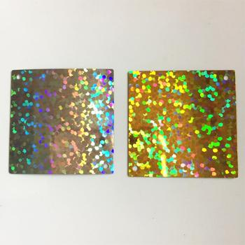 1kg 30*30mm Flat Square Sequins For Crafts Sewing Accessories With 2 Side Holes Laser Silver Laser Gold Confetti Spangles