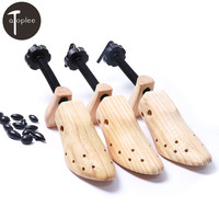 1PCS S M L Solid Wood Expansion Shoe Pine 2 Way Wooden To Expand Shoes Tree
