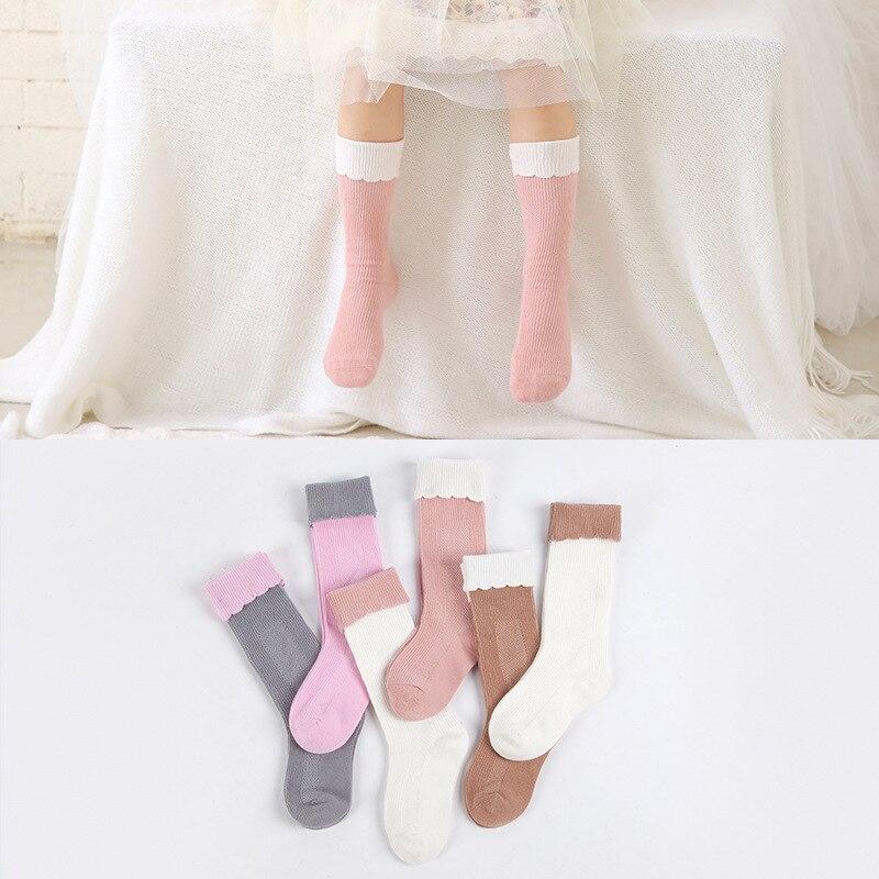 3 yataq otağı / çox Yeni payız qış Baby girl corab Moda Ulduz - Uşaq geyimləri - Fotoqrafiya 1