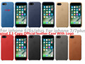 Para iphone 7 case de couro original oficial com o logotipo 1:1 couro case para iphone 6 6 s 7 plus case cópia original de volta cobrir