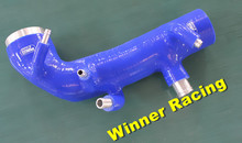 Reinforced silicone Induction air intake inlet hose pipe for Subaru WRX STi GRB GH8 Version 10 2008-2012