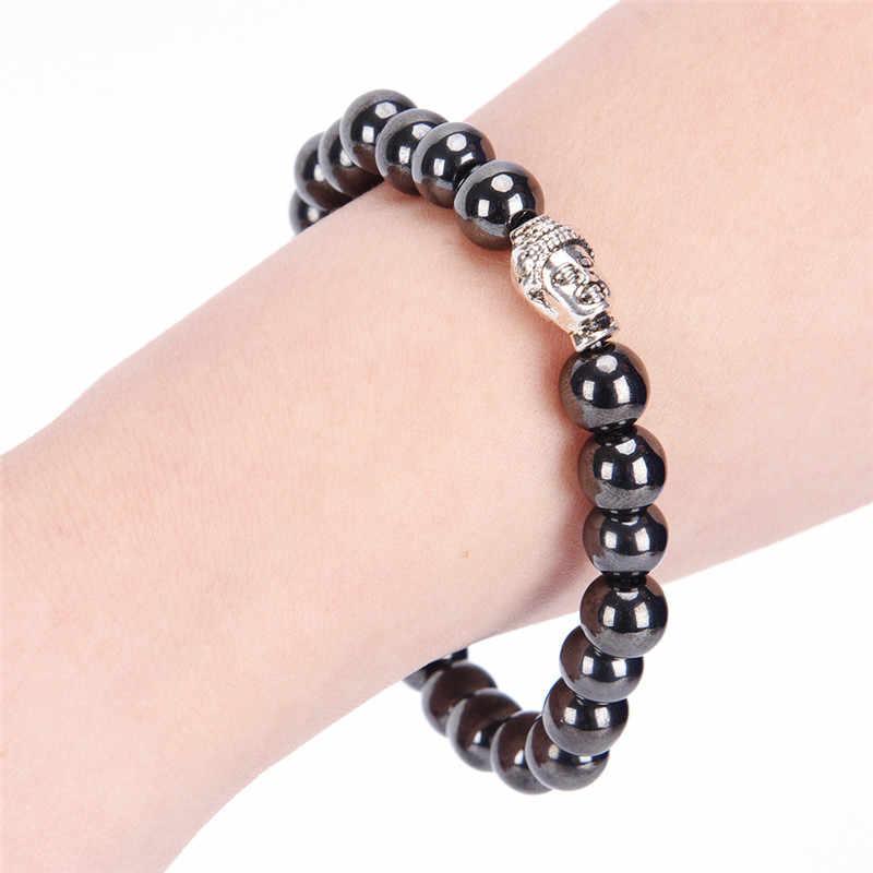 Gezondheid Energie Afvallen Armbanden Voor Vrouwen Silming Magnetische Therapie Hematiet Tiger Eye Armband Voor Mannen Afvallen