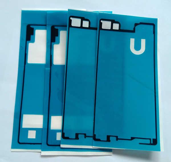 Voor + Back Lijm Lijm Tape Sticker Voor Sony Xperia Z3 + Z4 E6553 E6533 LCD Behuizing Frame Plaat Terug batterij Cover