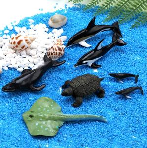 Seat whale dolphin diy handmade crystal glue plastic mold small ornaments ins wind homemade filler material(China)