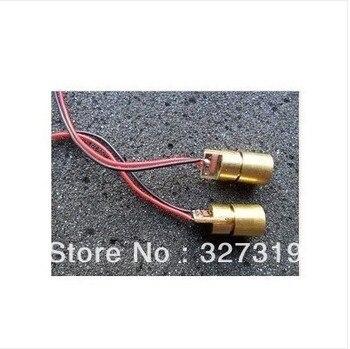цена на 10pcs mini 650nm 5mW 3V Laser Dot Diode Module Head 3V