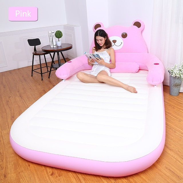 1bb53280383 1 2 person air mattress Totoro lazy bed inflatable bed