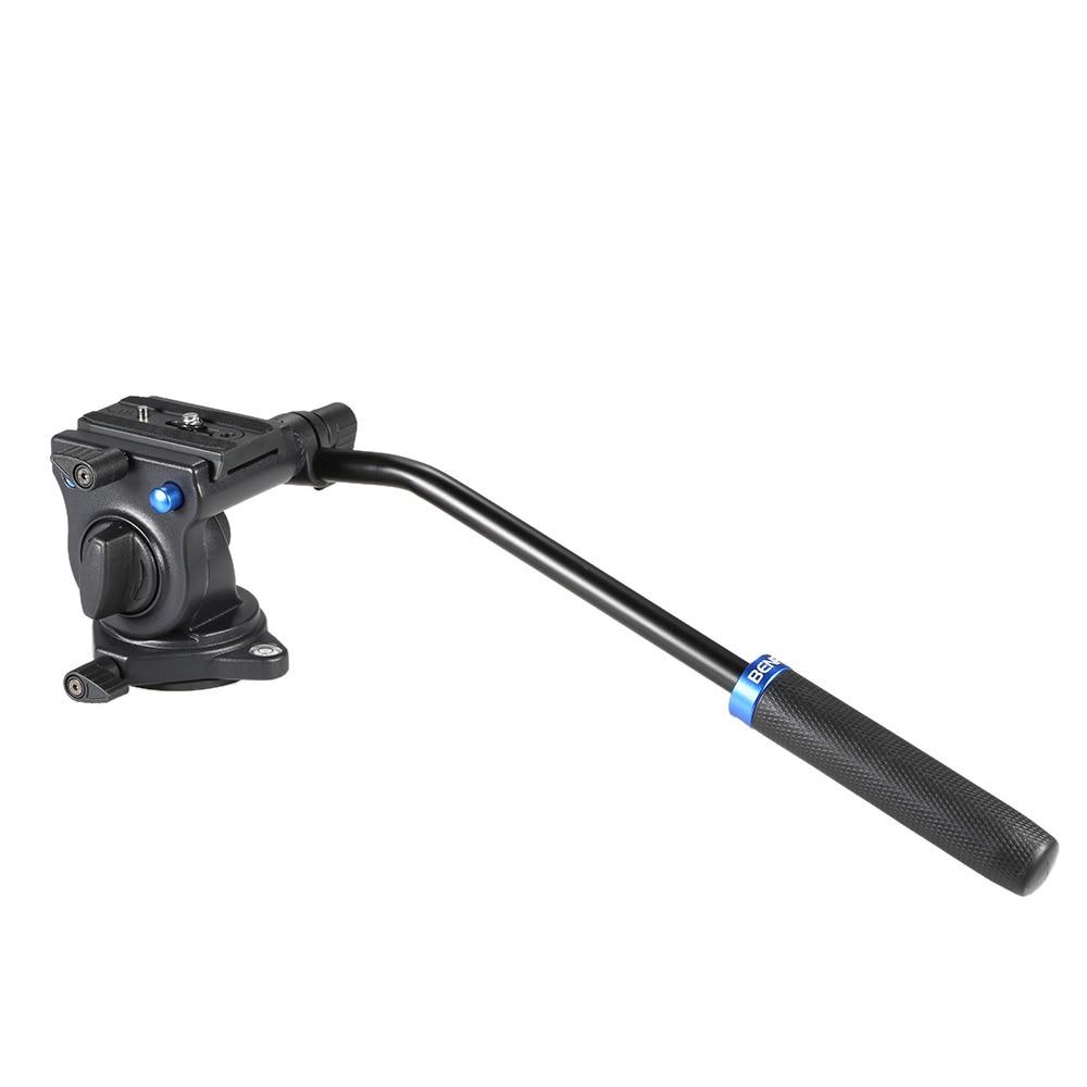 bilder für S2 Professionelle Video Kopf Flüssigkeit Kopf Hydraulische Dämpfung 3D Stativkopf Video Kamera Einbeinstativ Leiter Max Last 2,5Kg