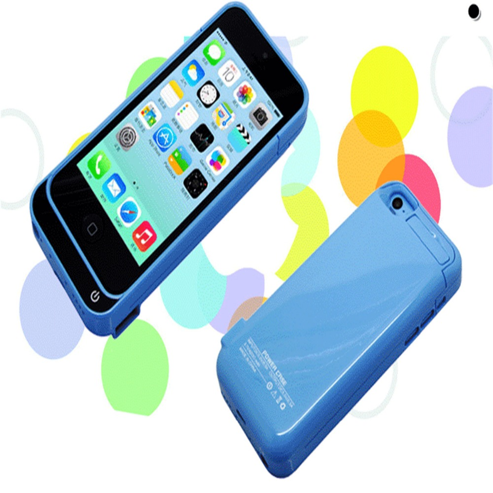 Slim External for iPhone 5 5S 5C SE 4200mAh Rechargeable Battery Case Protective Batter Case bank case for iPhone5 5S 5C SE