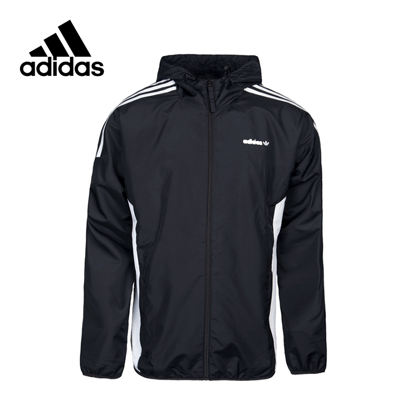 все цены на Adidas New Arrival 2017 Official Originals CLR84 WB Men's Woven jacket Hooded Sportswear BK0002