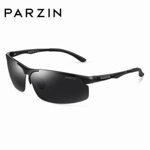 PARZIN Polarized Sunglasses Driving Metal Frame Men Goggle High-Quality Cool for Male