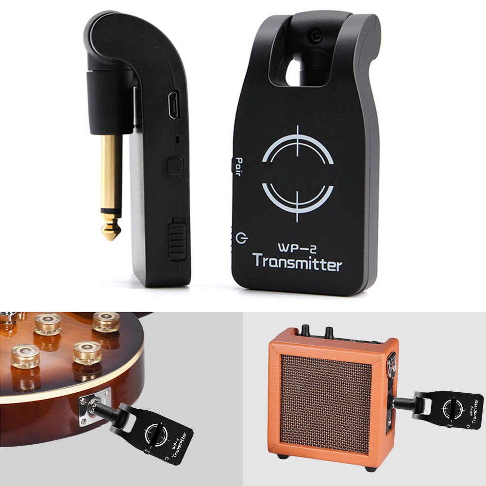 2.4GHZ Wireless USB Rechargeable Electric Guitar System Digital Bass Audio Transmitter Receiver ASD882.4GHZ Wireless USB Rechargeable Electric Guitar System Digital Bass Audio Transmitter Receiver ASD88