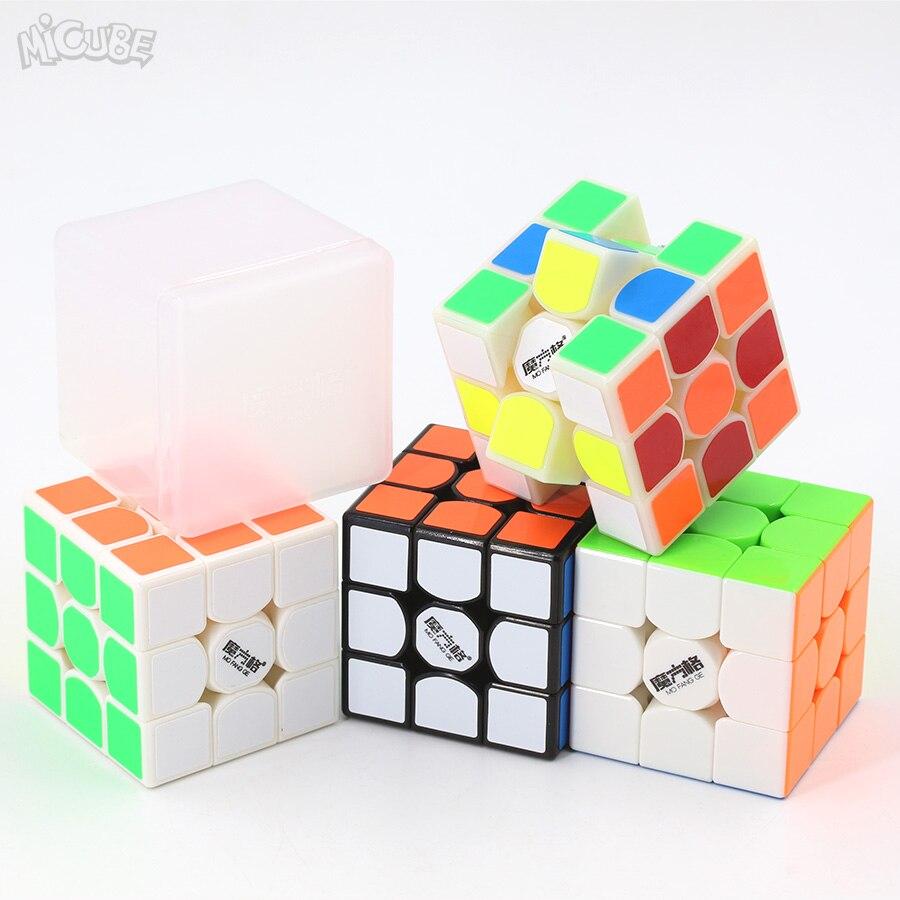Micube 3x3x3 thunderclap v2 mofangge cubo mágico velocidade quebra-cabeça 56mm competição brinquedos para crianças crianças cubo wca campeonato 3x3