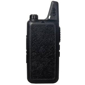 Image 2 - ANYSECU Walkie Talkie WLN KD C1 Mini Radyo UHF 400 470 MHz 5 W 16 Kanal MINI el telsizi Üç renk Isteğe Bağlı