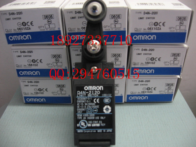 [ZOB] New imported OMRON Omron Limit Switch D4N-2120  --5PCS/LOT dhl ems 5 sests for omron limit switch d4n 1132 new in box