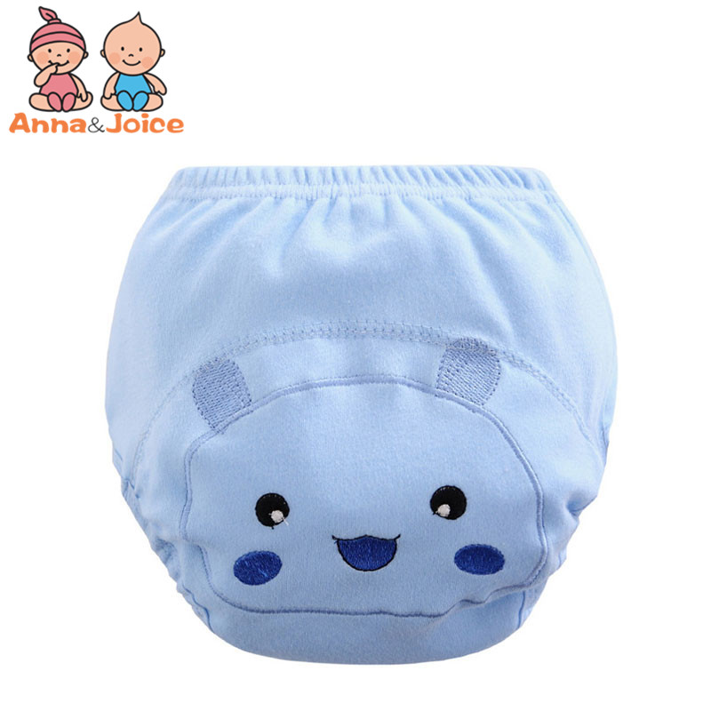 30pcs/lot Free Shipping  Baby Diapers  100% Cotton Unisex Soft Comfortable Cute Cartoon Pattern Diaper Size 80/90/100