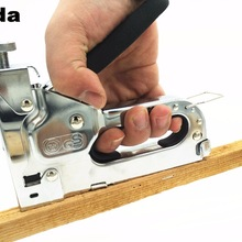 Furniture-Stapler Tacker-Tools Hand-Nail-Gun Heavy-Duty Framing Manual Free-Woodworking