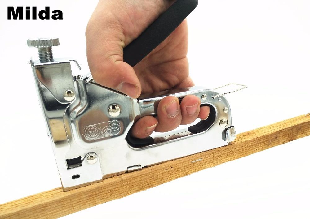 3-wege Manuelle Heavy Duty Hand Nagel Pistole Möbel Hefter Für ...