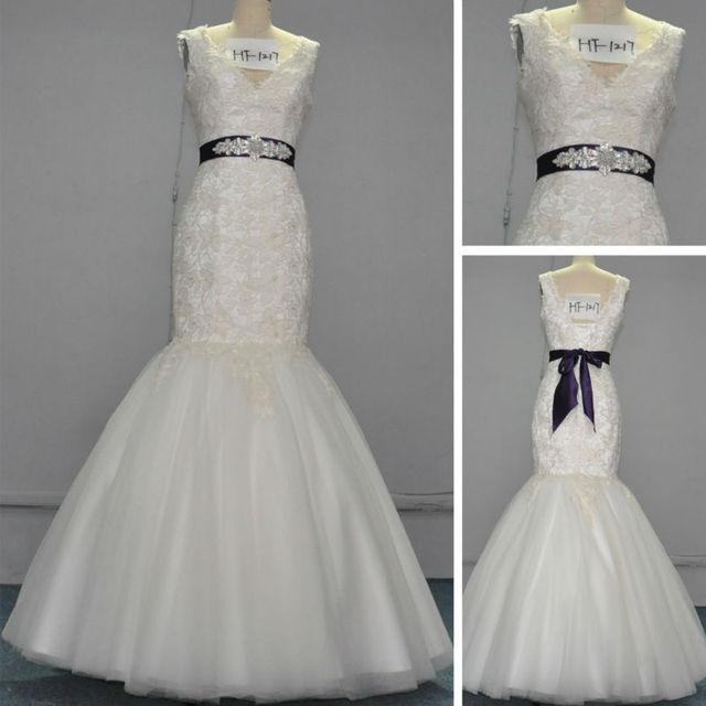 Vestidos de novia tejido irlandes