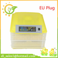 Mini Capacity 96 Auto Turner Full Automatic Egg Incubator For Chicken With Digital Commercial Thermostat Control