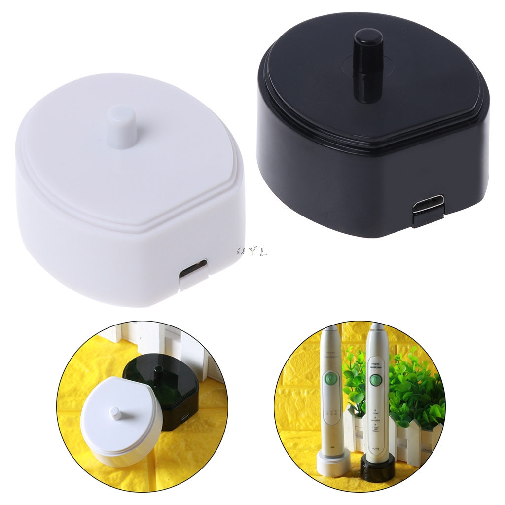 Electric Toothbrush Charger Charging Cradle USB Line Data Cable Portable Base image