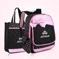 Hot Fashion Children School Bags For Girls High Quality Nylon Bag Backpack School Backpacks Child Bags 2016 Free Shipping D233