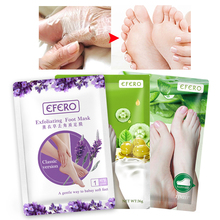 6pcs=3pair Foot Mask Exfoliating Scrub Pedicure Spa Socks Remove Dead Skin Heels Feet Peeling Mask for Legs Foot Patch Cream 3pair 6pcs peeling feet mask dead skin remove foot skin smooth olive exfoliating foot mask socks for pedicure cream for heels
