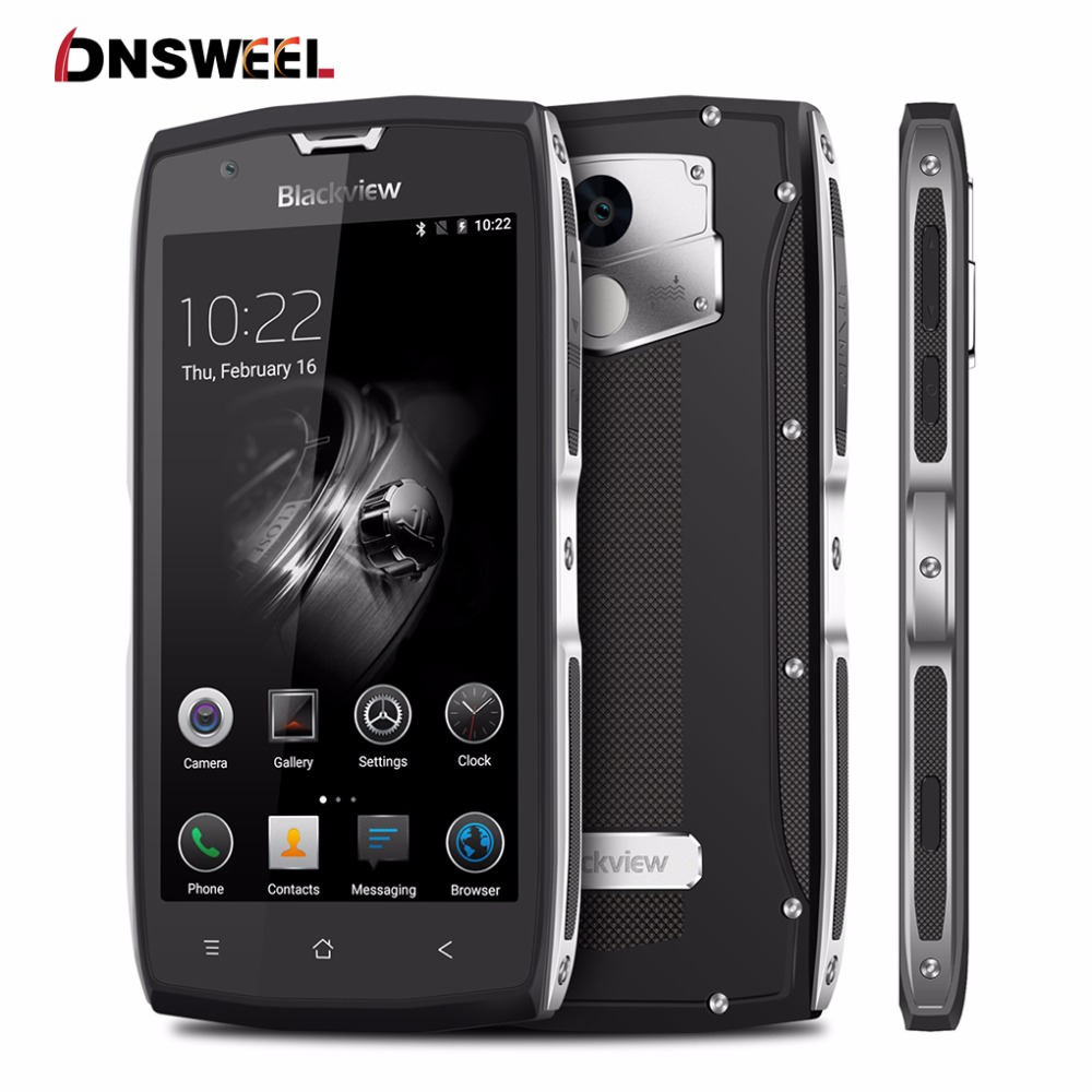 Ip68 a prueba de agua teléfono móvil blackview bv7000 pro 5.0 \