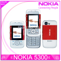 Refurbished Nokia 5300 Original Unlock Cell Phone support Russian keyboard Russian menu Nokia mobilephones Free shipping