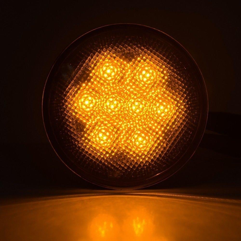 Təqdimat! Wrangler üçün cip lampası üçün LED Ön Dönüş - Avtomobil işıqları - Fotoqrafiya 5