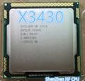 Original Intel Xeon X3430 Quad Core 2.4GHz LGA 1156 8M Cache 95W Desktop CPU (working 100% Free Shipping)