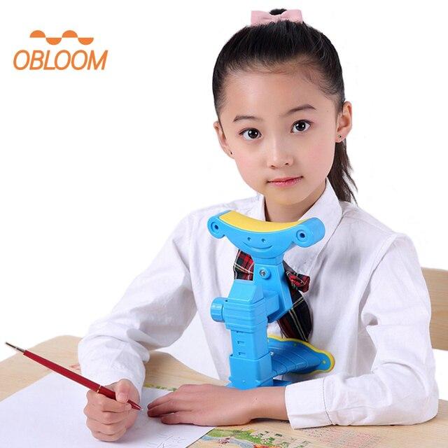 Corrector de la postura de la escritura Corrector de la visión ajustable corrección del Protector para los niños del Día de los niños alisador de regalo