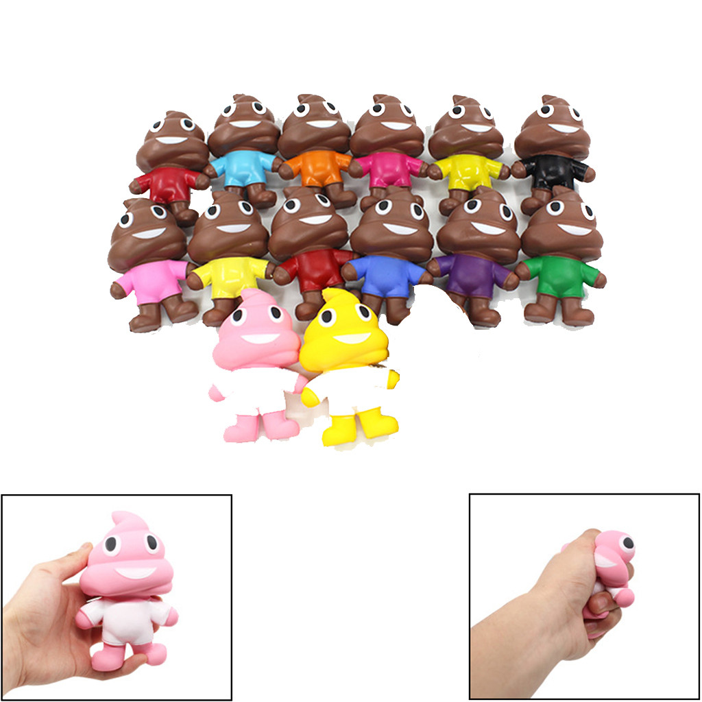 Simulation Slow Rebound Mini Adorable Poo Doll Slow Rising Kids Stress Reliever Decompression Toy  30