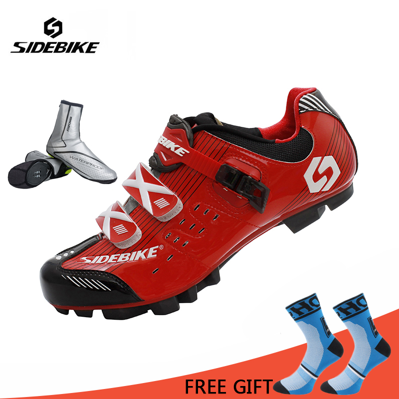 Sidebike Men Cycling Shoes Sneakers Autolock Sapatilha Ciclismo Bike Shoes Zapatillas Ciclismo MTB Breathable Bicycle Shoes