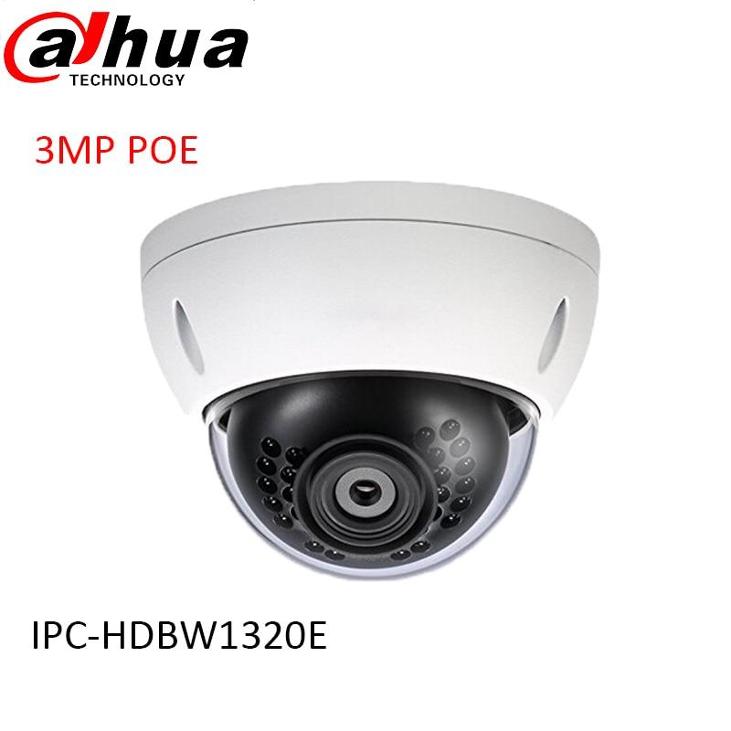 Здесь можно купить   original DAHUA 3MP Network IR 30M DOMECamera 1080P indoor IP camera full HD POE IPC-HDBW1320E free  shipping Строительство и Недвижимость